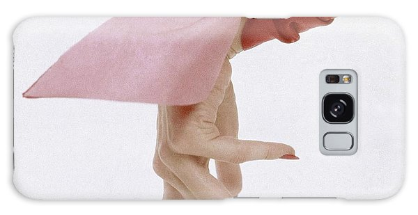 A Hand With A Wrist Scarf Galaxy Case