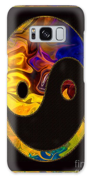 A Happy Balance Of Energies Abstract Healing Art Galaxy Case
