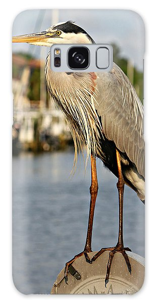 A Heron In The Marina Galaxy Case