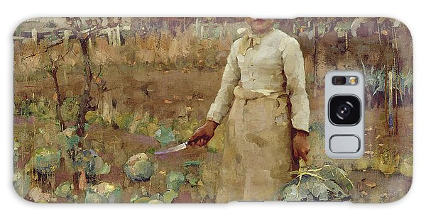 A Hinds Daughter, 1883 Oil On Canvas Galaxy Case by Sir James Guthrie