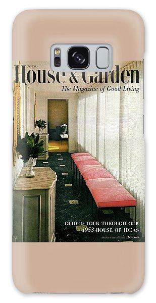 A House And Garden Cover Of A Hallway Galaxy Case