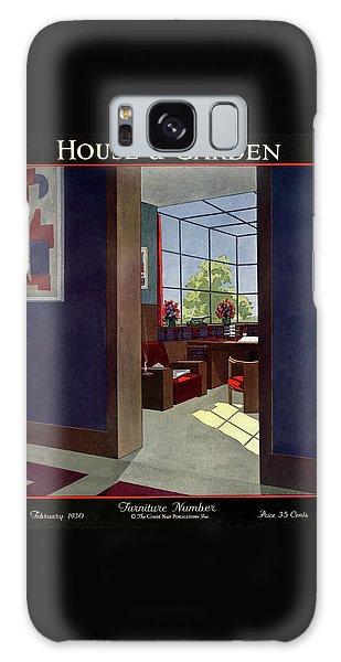 A House And Garden Cover Of An Interior Galaxy Case