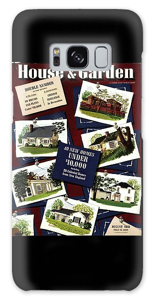 A House And Garden Cover Of Houses Galaxy Case