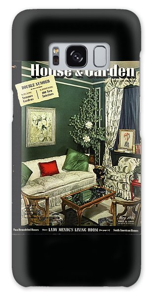 A House And Garden Cover Of Lady Mendl's Sitting Galaxy Case
