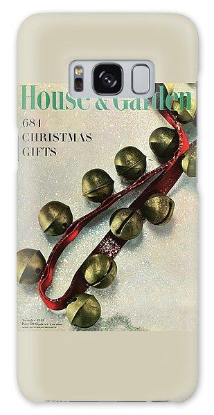 A House And Garden Cover Of Sleigh Bells Galaxy Case