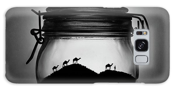Caravan Galaxy Case - A Jar Of Sugar Sand by Victoria Ivanova