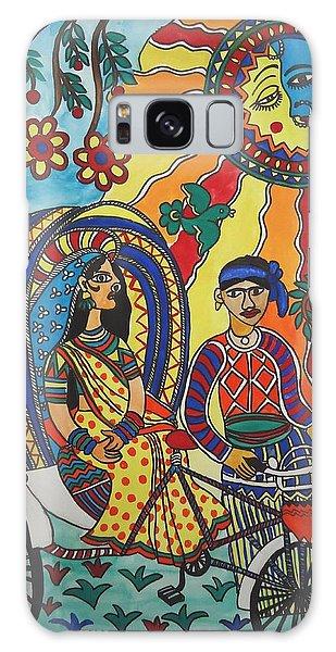 Madhubani Galaxy Case - A Journey By Rickshaw by Shakhenabat Kasana