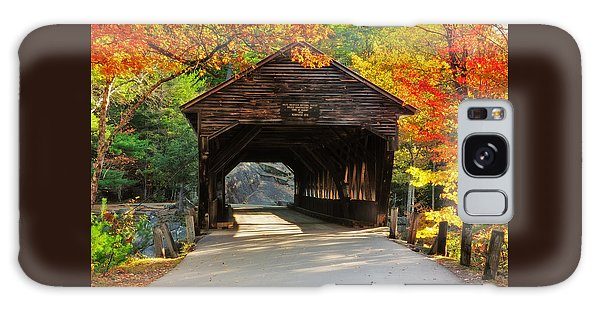 A Kancamagus Gem - Albany Covered Bridge Nh Galaxy Case