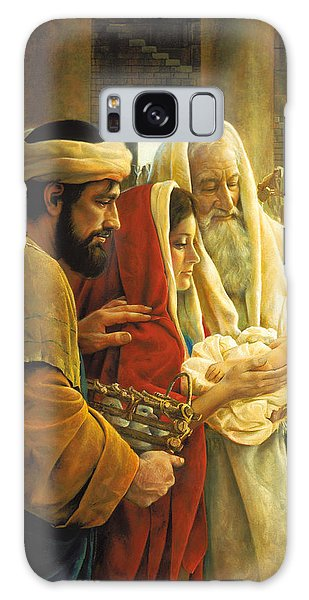 Galaxy Case featuring the painting A Light To The Gentiles by Greg Olsen