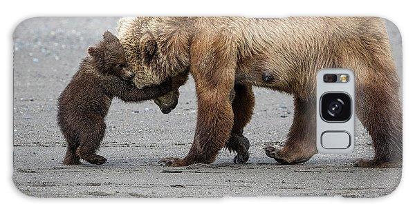 A Little Bear Hug Galaxy Case