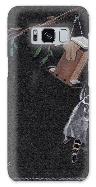 A Little Help Here Galaxy Case by Catherine Swerediuk