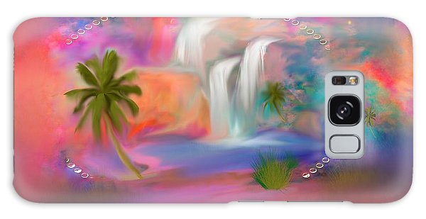 A Little Secret Place In Heaven To Meditate Galaxy Case by Sherri's Of Palm Springs