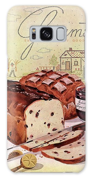 A Loaf Of Raisin Bread Galaxy Case