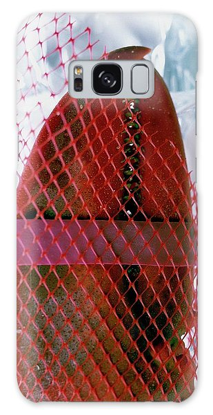 A Lobster Claw In Red Packaging Galaxy Case