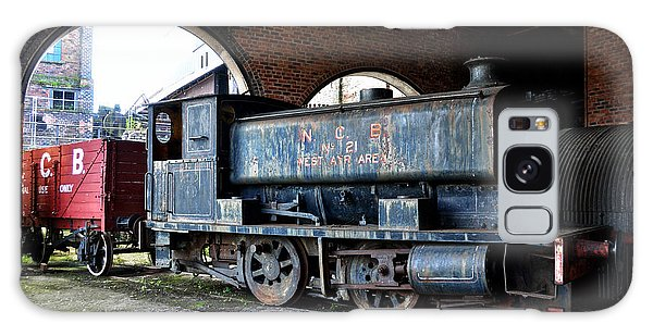 A Locomotive At The Colliery Galaxy Case by RicardMN Photography