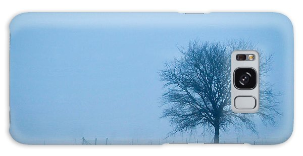 A Lone Tree In The Fog Galaxy Case