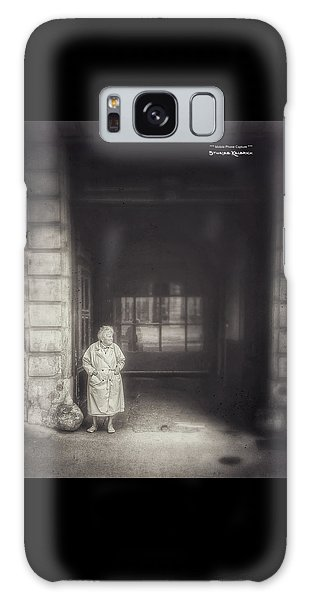 Galaxy Case featuring the photograph A Long Boring Wait... by Stwayne Keubrick