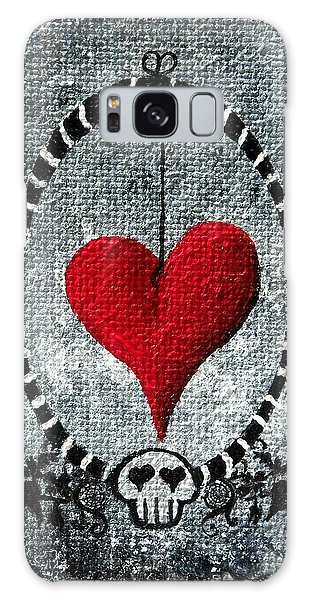 A Love Story 5 Galaxy Case by Oddball Art Co by Lizzy Love