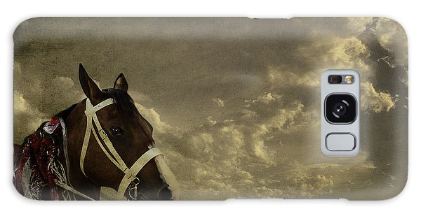 A Lovely Horse Galaxy Case