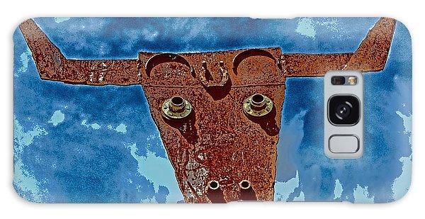 A Lucky Bull Galaxy Case by Lynn Sprowl
