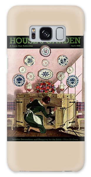 A Maid Getting China From A French Provincial Galaxy Case