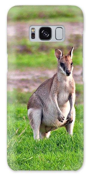 A Male Grey Kangaroos (macropus Galaxy Case