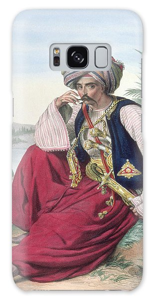 Turban Galaxy Case - A Mameluke Or Slave Soldier, Engraved by Louis Dupre
