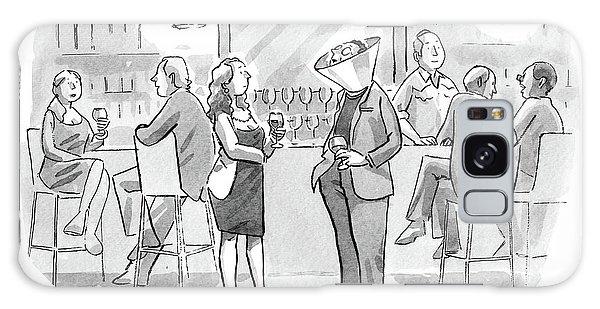 A Man And Woman Talk At The Bar Galaxy S8 Case