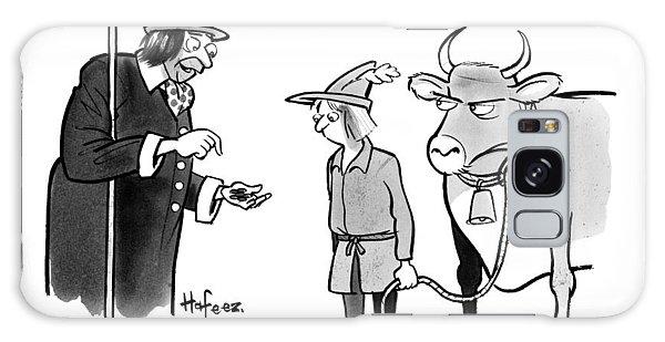 A Man Sells A Boy Leading A Cow  Beans -- Jack Galaxy Case