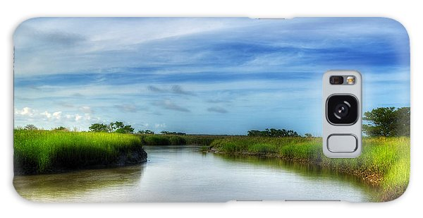 A Marsh At Jekyll Island Galaxy Case