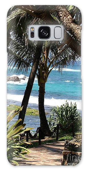 A Maui Afternoon Galaxy Case by Mary Lou Chmura
