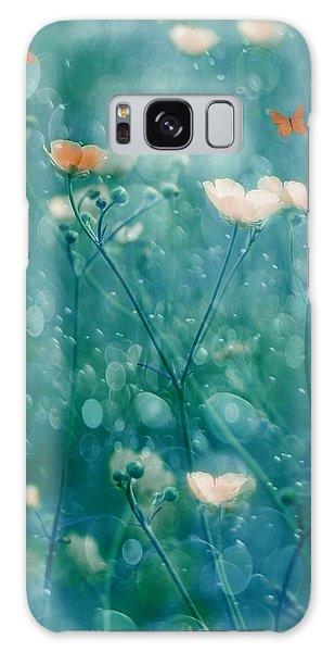 Soft Galaxy Case - A Memory Of June by Delphine Devos