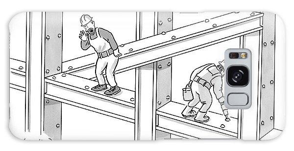 Escher Get Your Ass Up Here Galaxy S8 Case