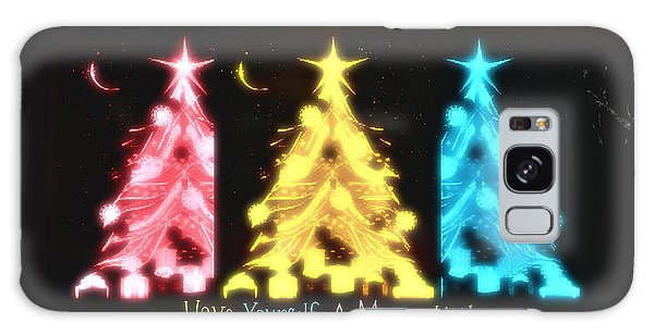 A Merry Little Christmas Galaxy Case