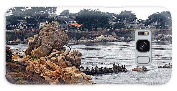 A Misty Day At Pacific Grove Galaxy Case