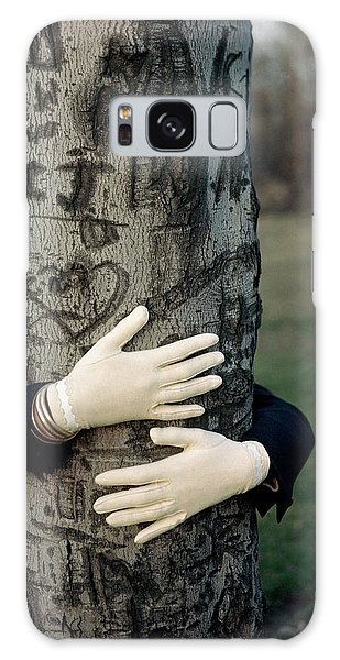 A Model Hugging A Tree Galaxy Case