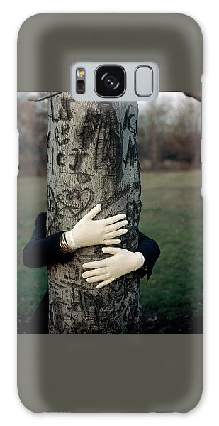 A Model Hugging A Tree Galaxy Case
