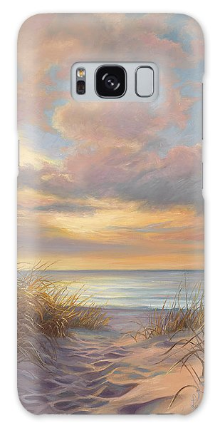 Outdoors Galaxy Case - A Moment Of Tranquility by Lucie Bilodeau