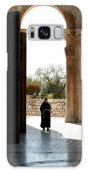 A Monk In Israel Galaxy Case