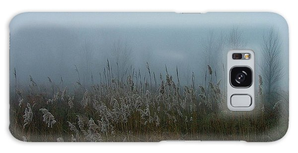 A Morning Fog Galaxy Case