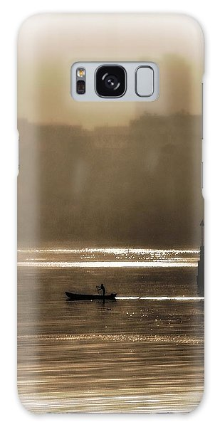 A Morning Paddle Galaxy Case