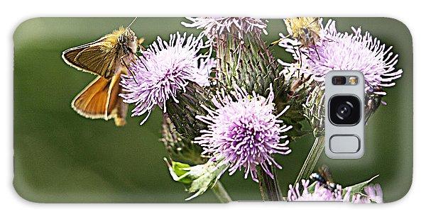 A Moth's Feast Galaxy Case
