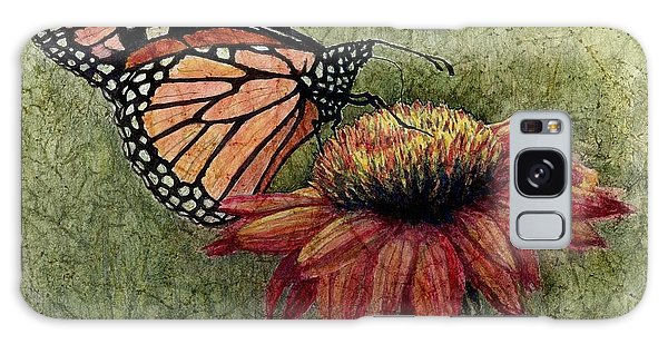 A New Creation From A Butterfly In My Garden Galaxy Case by Janet King