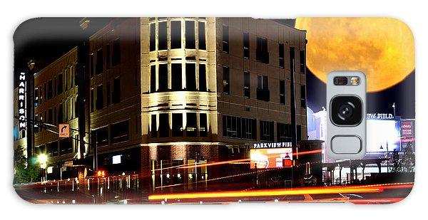A Night Downtown Galaxy Case