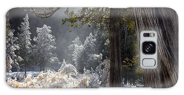 A North Woods Fairy Tale Galaxy Case