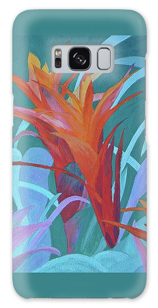 A Pattern Of Bromeliads Galaxy Case by Margaret Saheed
