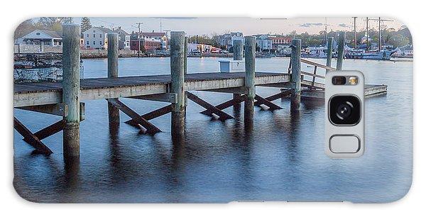 A Peaceful Dock -  Mystic Ct Galaxy Case