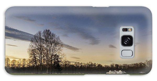 A Peaceful Sunset Galaxy Case