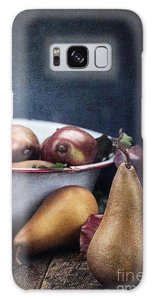 A Pear Sill Life Galaxy Case by Stephanie Frey