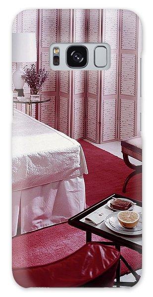 A Pink Bedroom Galaxy Case